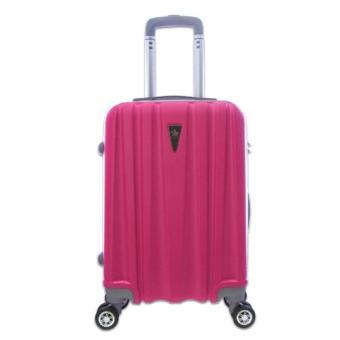 Vali du lịch nhựa nhám siêu nhẹ khóa TSA size S đựng 7Kg TA229