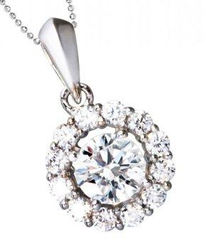 Mặt dây chuyền đá kim cương nhân tạo -MCD21