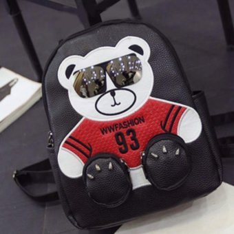 Balo Gấu Trúc Dễ Thương BLTR001 ( Đen)