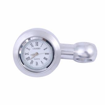 Đồng hồ thời gian gắn xe máy (bạc)