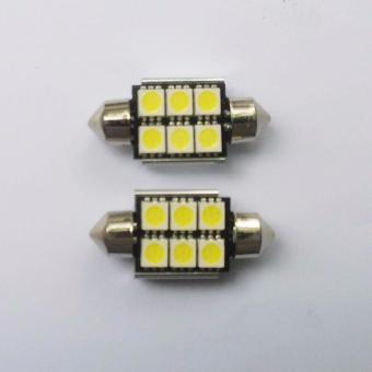 Đèn led trần cho ô tô loại 6 bóng (36mm)