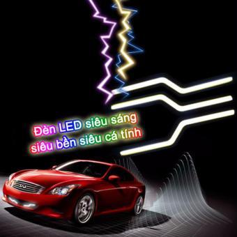 Đèn LED siêu sáng độ badosok xe hơi cực chất