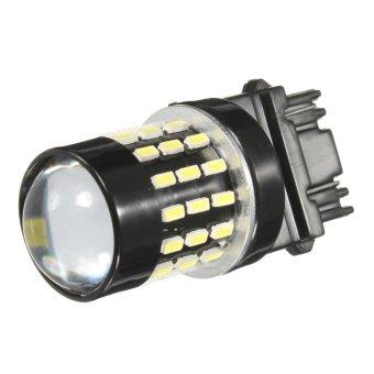 54-SMD 3157 White High Power 12V LED Turn Signal Brake Light Bulb - intl