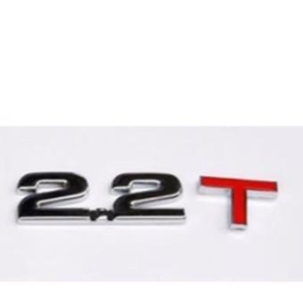 Decal dung tích ô tô (2.2T)