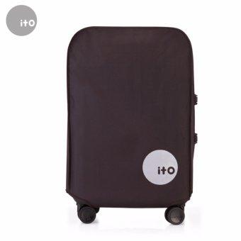 Túi bọc vali chống nước size 24 (nâu)