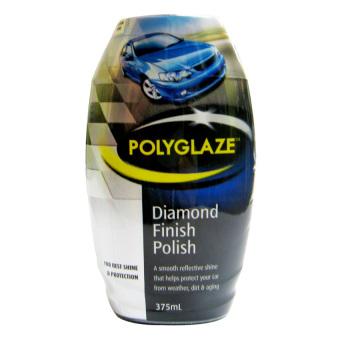 Chất đánh bóng lấp lánh sơn xe ô tô Polyglaze Diamind Finish Polish 375ml (Xám Đen)