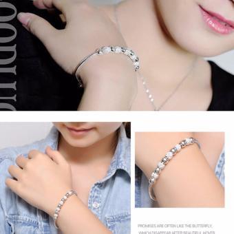 Vòng Đeo Tay Nữ Trang Sức Bạc Sodoha Bracelet 70B30