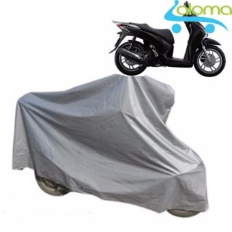 Bạt phủ xe máy chất lượng cao 2.5m siêu dày chống nước BPCC-3m