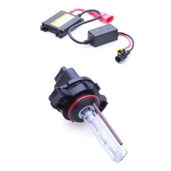 Bộ đèn xenon HID 9004 pha cos xe ô tô 35W 4300K (Trắng vàng)