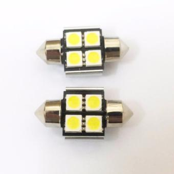 Đèn led trần ô tô loại 4 bóng (31mm)