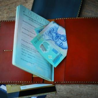 Ví da đựng hộ chiếu VN01