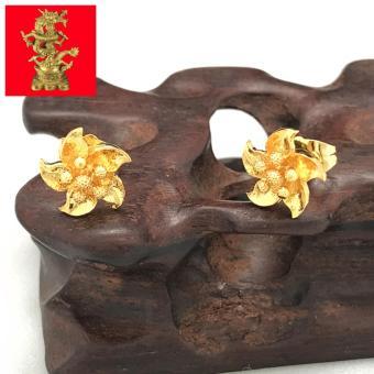 Bông Tai Nữ Mạ Vàng 24K