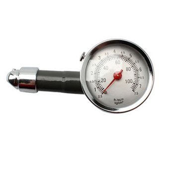 Auto Metal Truck Racing Car Tire Air Pressure Gauge F(Intl)