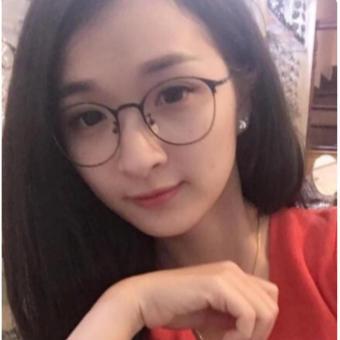 Kính nobita gọng kim loại dễ thương (Đen)
