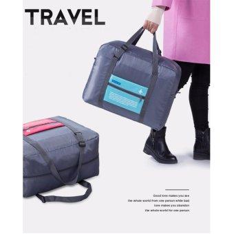 Túi du lịch chống thấm gấp gọn (Xanh da trời)