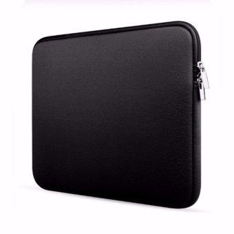 Túi chống sốc laptop 11 inch cao cấp (Đen)