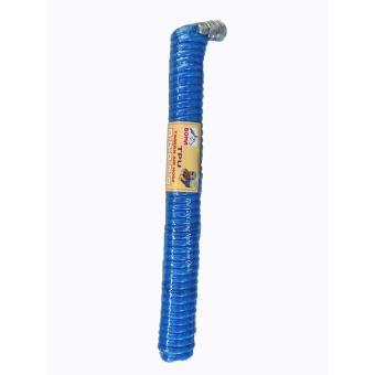 cuộn Dây hơi lò xo xoắn áp lực 6m cho máy nén khí(mầu xanh)