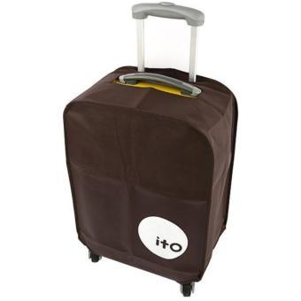 Túi bọc vali chống nước size 28 (nâu)