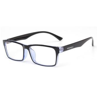Kính mắt Unisex chống bức xạ gọng nhựa K219 - 2A (Xanh)