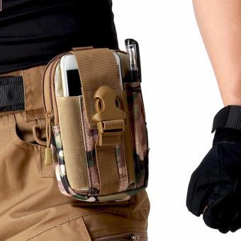 Túi đeo hông, thắt lưng thời trang N03 (Nâu xanh)