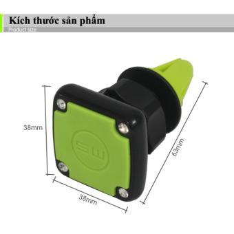 Giá đỡ điện thoại trên ô tô VIPauto-GĐ04 (Xanh lá)