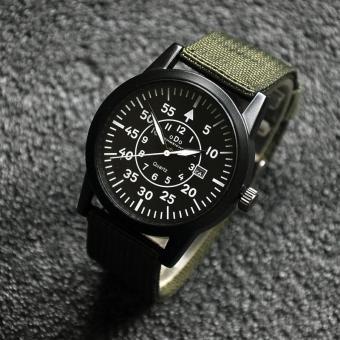 Đồng hồ nam dây vải dù cao cấp ODO ODO02 (Xanh)