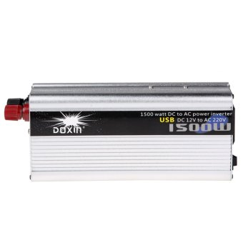 1500W Converter Modified Power Inverter Car DC 12V to AC 220V - Intl - intl