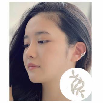 Bông tai nữ kẹp hình lá thời trang hàn quốc BT9988