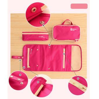 Túi đựng mỹ phẩm đi du lịch Flancoo 2953 (Xanh lá)