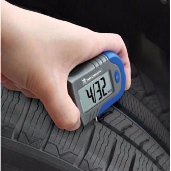Đồng hồ đo áp suất lốp oto, xe hơi điện tử Michelin Cao cấp