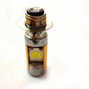 Đèn Pha Led 2 chân gold gắn xe máy (ánh sáng trắng)