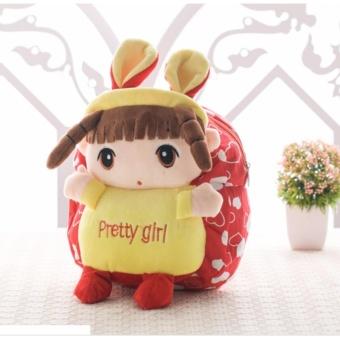 Balo công chúa đáng yêu cho bé gái đỏ (áo vàng)