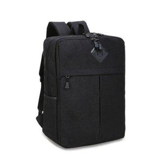 Ba lô Laptop Thời Trang Glado Hình Hộp Màu Đen - BLG110
