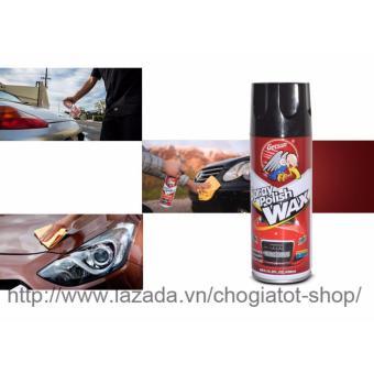 Chai xịt đánh bóng và phục hồi bề mặt sơn ô tô 450ml