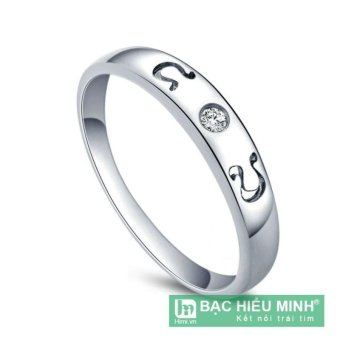 Nhẫn nữ Bạc Hiểu Minh nu338 cung sư tử