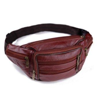 Túi đeo bụng da thật cao cấp Đồ Da Thành Long TLG 205872-1