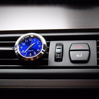 Đồng hồ cài cửa gió xe hơi CHAOYU ( xanh )