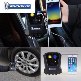 Máy bơm lốp oto, xe hơi điện tử MICHELIN 4399MLcao cấp - Nhập khẩu