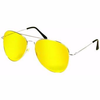Mắt kính đi đêm chống chói và bảo vệ mắt (Vàng)