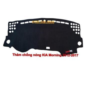 Thảm chống nắng Taplo xe KIA Morning đời 2012-2017
