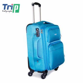 Vali Vải TRIP P036 Size L - 28inch (Xanh thiên thanh)