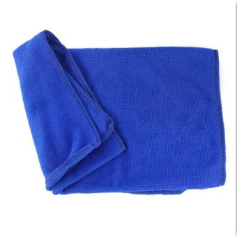 Bộ 4 khăn rửa xe hơi K04 (Xanh)