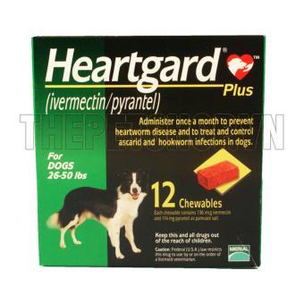 Heartgard plus green dành cho chó (11,5-22,5 kg)
