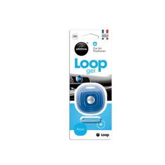 Nước hoa ô tô cao cấp - Kẹp cửa gió Aroma Car Loop Aqua