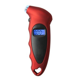 LCD Digital Tire Tyre Air Pressure Gauge Tester for Car Auto Motorcycle - INTL