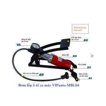 Bơm lốp ô tô xe máy VIPauto-MBL04