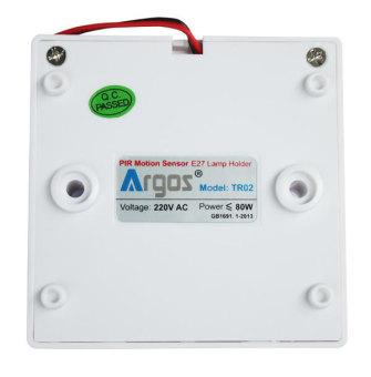 Đuôi đèn cảm biến hồng ngoại Argos TR02