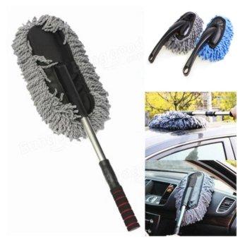 Chổi lau xe rửa vệ sinh ô tô điều chỉnh được độ dài QD Tặng kèm 01 chổi vệ sinh ngắn
