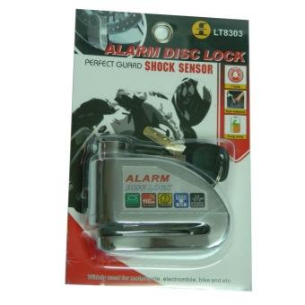 Khóa đĩa xe máy LT8303 (Bạc) - Luto Shop