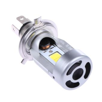 Motorcycle LED Headlight H4 Hi Lo 20W 2000LM HS1 COB(Gold Light) (...) - intl